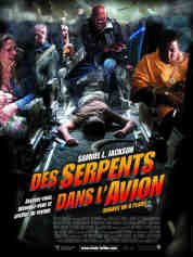 des serpents dans l' avion
